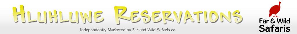 Reservations for Hluhluwe – Zululand – KwaZulu-Natal